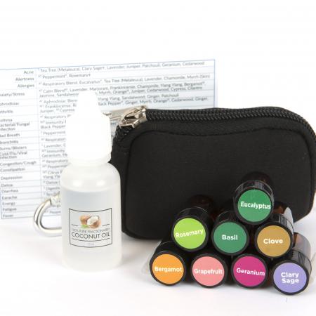 pocket doctor 2 essential oil keychain kit