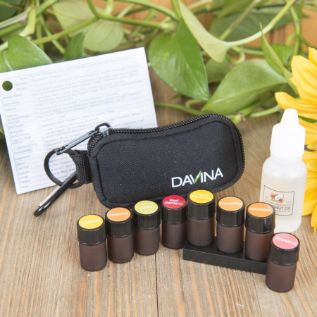 Davina Pocket size pure citrus essential oil 2 ml travel kit