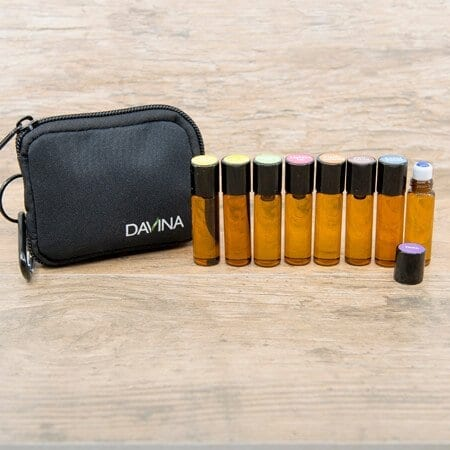 Davina Psychiatrist 4 oz essential oil roll-ons with kit